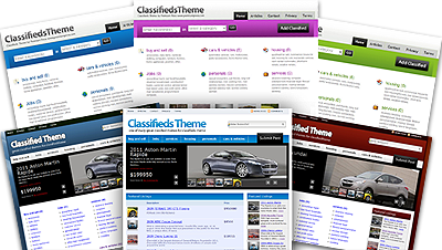 how does Classifieds Theme work?